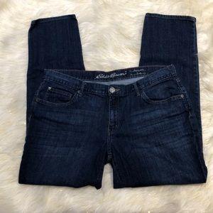 Eddie Bauer Dark Blue Boyfriend Slim Jeans 14